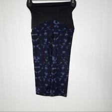 Spanx Size XS Womens Black Blue Legging Shapewear