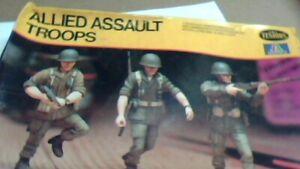 testors allied troops 1/35th nib kit military soldiers