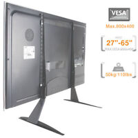 LCD LED PLASMA TV Stand Bracket, SCREEN BRACKET, Table Top TV Stand (80-005)