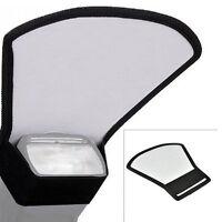 Flash Diffuser Softbox Silver+White Reflector for Yongnuo Canon Nikon Speedlite