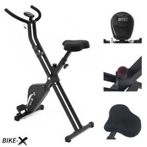 Esprit BIKE-X Foldable Exercise Bike BLACK Fitness Weight Loss Machine