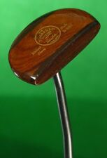 """The Timbered Putter Russ Fisher Walnut Ebony Hand Made 34"""" Putter QQ"""
