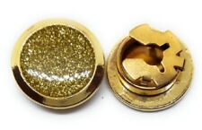 GOLD DIAMOND DUST BUTTON COVERS MANUFACTURERS DIRECT PRICING