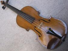 """alte Geige, old violin """"Karl Niedt Würzburg"""" mit Stimmriss!"""