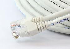 1m RJ45 Ethernet Cable CAT6 Fast Gigabit Network WHITE Xbox PS4 Smart SKY TV