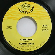 Jazz 45 Count Basie - Something / Come Together On Happy Tiger Records