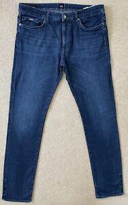 Hugo Boss Delaware Slim Men's Jeans W36 L36 (D748)