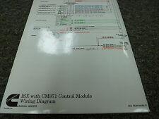 Cummins ISX Engine w/ CM871 Control Module Electrical Wiring Diagram Manual