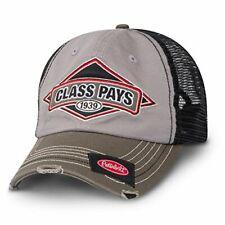 Peterbilt Motors Cap - Class Pays Mesh Cap Gray / Green Hat