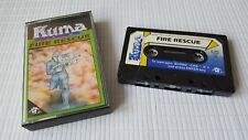 MSX Game - Fire Rescue - Kuma