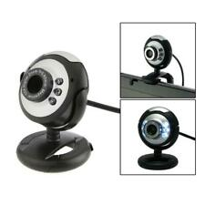 6-LED USB Webcam Web Cam Camera With Built-in Mic for Laptop Desktop PC Computer