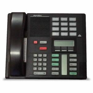 BRAND NEW GENUINE Nortel Norstar Meridian M7310 Display System Phone Blk BLACK