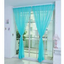Gardinenschal Transparent Schiere Türvorhang Voile Fenster Vorhang Fadenvorhang