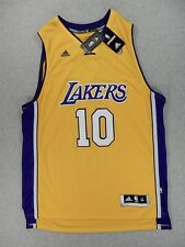 NWT Los Angeles Lakers Replica Swingman Basketball Jersey (#10 Nash) Adult XL