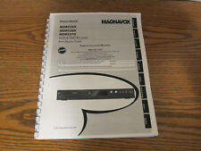 Magnavox MDR533H MDR535H MDR537H operating user owner's instruction manual