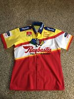 RARE NASCAR FORD RACING RAYBESTOS Chi-Chie Pit Crew Shirt JERSEY CHIEF Uniform
