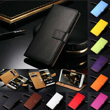 Genuine Leather Wallet Flip Case Cover For Huawei Honor 7 9 10 Lite P40 P30 P20