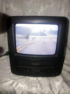 "Panasonic PV-M939 Omnivision 9"" CRT TV VCR Combo VHS Gaming FM Radio NO REMOTE"