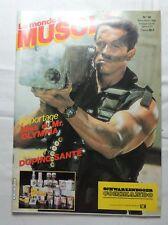 BODYBUILDING - Le monde du muscle n°58 - 1986 TTBE - Arnold Schwarzenegger