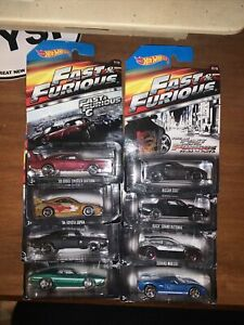 Hot Wheels Fast & Furious 2014 Complete Set JDM GT, 350Z, Supra, Grand Exclusive