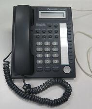 Black PANASONIC KX-T7667 NETWORKS TELEPHONE OFFICE BUSINESS DESK PHONE HANDSET