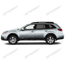 BODY SIDE Moldings PAINTED Trim Mouldings For: SUBARU OUTBACK 2010-2017