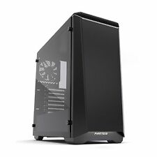 Phanteks Eclipse P400S Glass Black Midi Tower Gaming Case - USB 3.0
