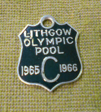 #D287.    LITHGOW OLYMPIC POOL BADGE 1965 - 1966  #550