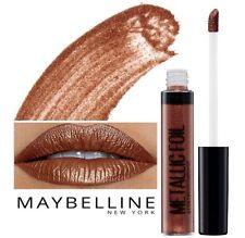 Metallic Foil Lip Gloss Liquid Lipstick Lacquer Maybelline shade is CALYPSO