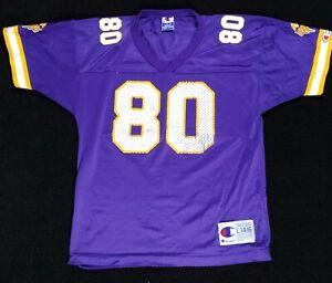 Minnesota Vikings Cris Carter jersey CHAMPION Youth L 14-16