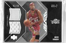 06 07 UD Black Drew Gooden Dual Jersey #ed /99