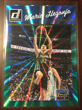 2016-17 Donruss Green Laser #69 Mario Hezonja #ed to 99 Orlando Magic Croatia