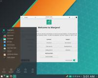 Manjaro Linux micro sd card raspberry pi Arch Cinnamon KDE GNOME Bash