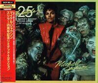 "Michael Jackson ""Thriller 25th anniv."" Japan LTD Edition CD+DVD w/OBI EICP-963"