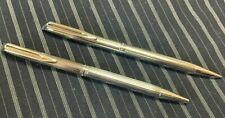 Waterman CF Set - Silver/Chrome CT Ballpoint Pen + Pencil