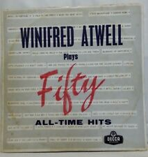 WINIFRED ATWELL - vintage vinyl LP - Plays Fifty All-Time Hits