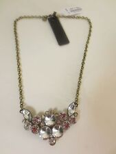 J.Crew FACTORY JEWEL CLUSTER NECKLACE item a1645 NWT $39.50 Clear