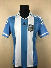 ARGENTINA 2011/2013 HOME FOOTBALL SOCCER SHIRT JERSEY ADIDAS ADULT SIZE M