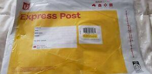 10 x 3 kg  Express Post Prepaid medium Satchel (new)