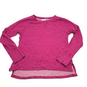CHAMPION Pink Sweater Womens Size Medium Long Sleeve Loose Light Weight Knit Top