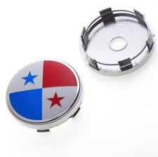 4PC 60mm Panama Panamanian Flag Wheel Center Hub Caps Fit Nissan Suzuki