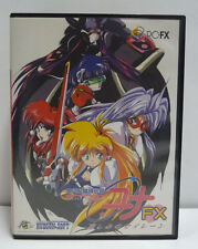 GALAXY FRAULEIN YUNA FX PC ENGINE PC-FX NTSC JAPAN COMPLETE