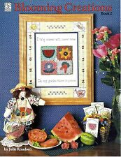 1994 Pattern Booklet Blooming Creations Book 2 Julie Knudsen Dolls Quilt #49