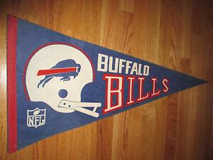 "1970s NFL BUFFALO BILLS 30"" Pennant O.J. SIMPSON"