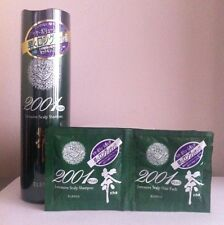 Elence 2001 Plus Green Tea Intensive Scalp Shampoo with Samples x 3