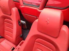 Kit Ritocca Colore Pelle Ferrari Ritocco interni Rosso Ferrari Rot 430 coupe