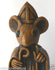 Church Mouse Bishop Reproduction Carving Unique Gift Collectable Ornament Cute