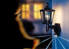 Applique Lampe murale Steinel L 15 617813 Détecteur Lampe de corridor noire 9498