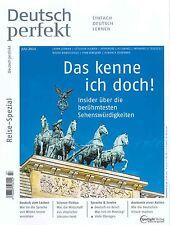 Deutsch perfekt - Heft Juli 07/2014: Reise-Spezial +++ wie neu +++
