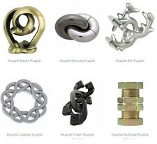 SIX Hanayama/Huzzle puzzles see list all new in boxes
